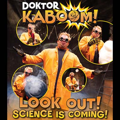 Doktor Kaboom – Look Out! Science is Coming!
