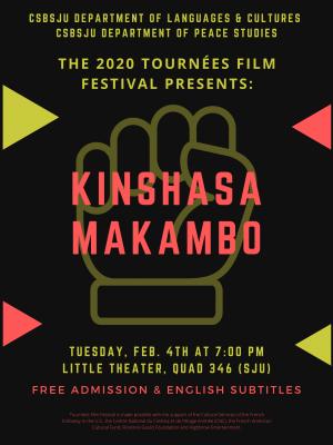 """Tournées Film Festival - """"Kinshasa Makambo"""""""