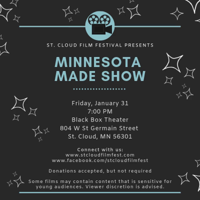 St Cloud Film Fest - Monthly Film Series - MN Made Shorts
