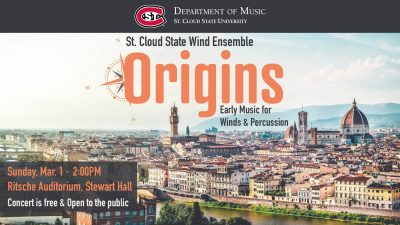 Origins: Early Music for Winds and Percussion feat...