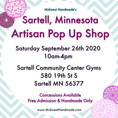 Artisan Pop Up Shop - Sartell