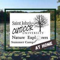 Nature Art 'at home' Camp with Saint John's Outdoor University