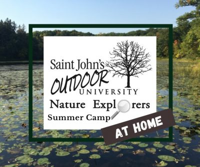 Nature Art 'at home' Camp with Saint John's Outdoo...