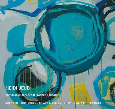 Heidi Jeub, Artist