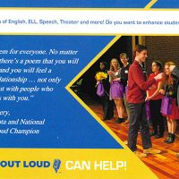 Call for all teachers of English, ELL, Speech, Theatre | Poetry Out Loud