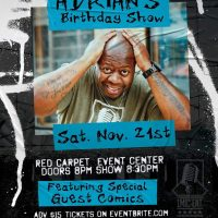 1Mic Ent Presents Adrian's Bday Show