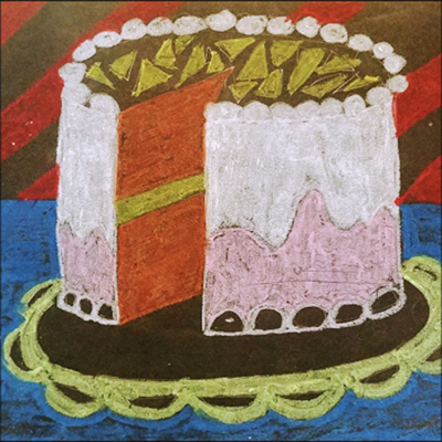 Pop Art: A Piece of Cake Virtual Class