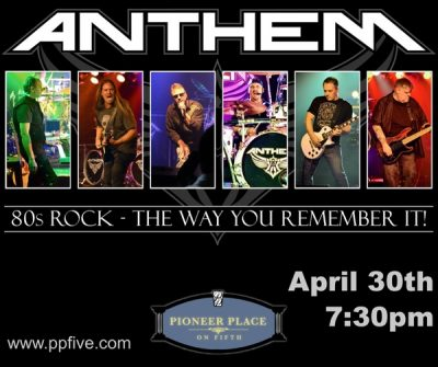 Anthem - A Salute to 80's Arena Rock