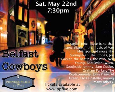 The Belfast Cowboys Present the music of Van Morri...