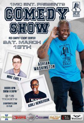 1Mic Ent Presents Adrian Washington & Friends