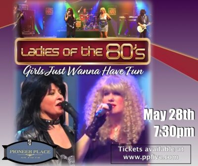 Ladies of 80's Present: Girls Just Wanna Have FUN!...