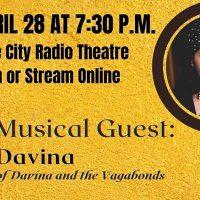 Granite City Radio Theatre with Davina of Davina and the Vagabonds