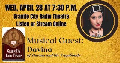 Granite City Radio Theatre with Davina of Davina a...