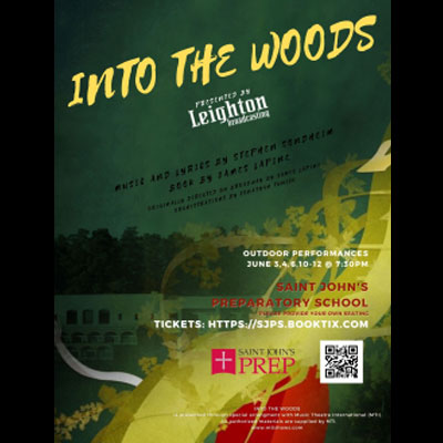 """""""INTO THE WOODS"""" presented by Saint John's Prep Th..."""