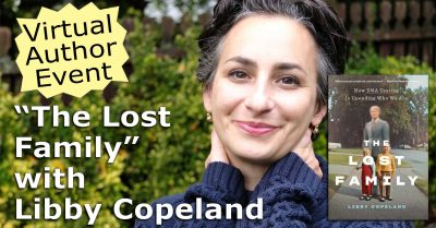 """Libby Copeland """"The Lost Family"""""""