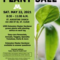 2021 Stearns County Extension Master Gardener Plant Sale