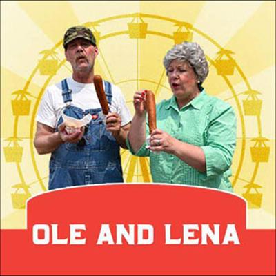 Ole & Lena at the State Fair
