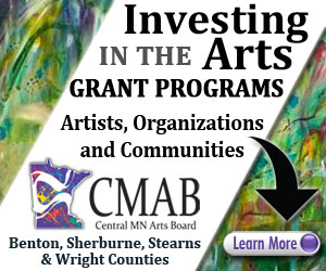 Ad for Central MN Arts Board (CMAB)