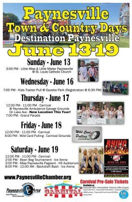 2021 Paynesville Town and Country Days