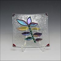Create A Fused Glass Serving Dish with Ruth Ross Hansen
