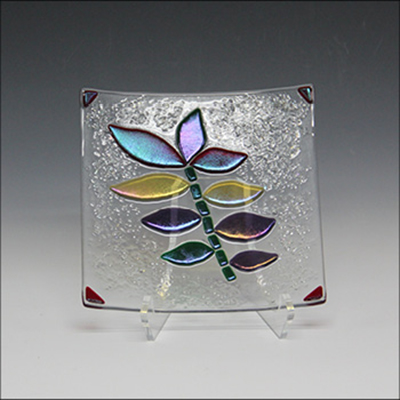 Create A Fused Glass Serving Dish with Ruth Ross H...