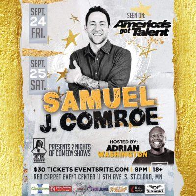 1Mic Ent Presents AGT's Samuel J Comroe