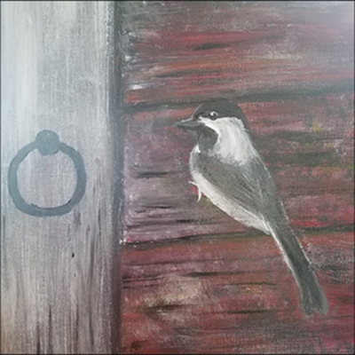 Intro to Acrylic Painting: Chickadee with Charlene Lundberg