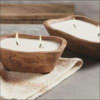 Make a Doughbowl Candle