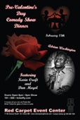 Pre Valentine's Day Dinner and Comedy show