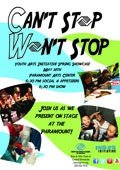 Youth Arts Initiative Spring Showcase - Can't Stop Won't Stop
