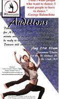 AUDITIONS! MN Dance Ensemble