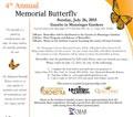 Music In the Gardens: Concert & Memorial Release of Butterflies