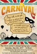 Wirth Center Presents: Spring Gala, Carnival!