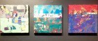 Abstract Zoo, paintings by John George