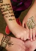 Henna Tattooing Workshop