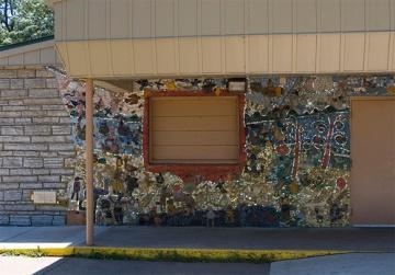 Kaleidoscope Mosaic Mural